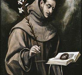 Figuras Franciscanas: II.- San Antonio Franciscano
