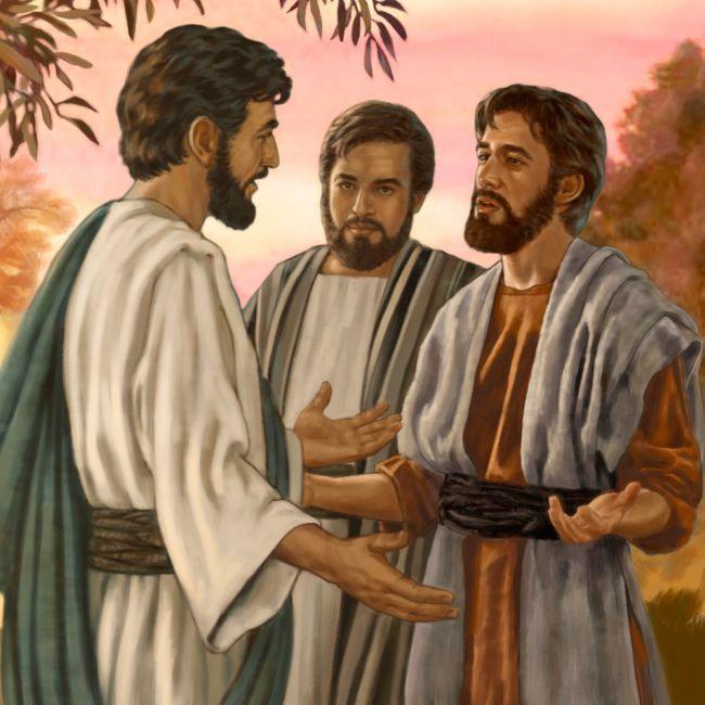 Domingo II (B). Primeros discípulos