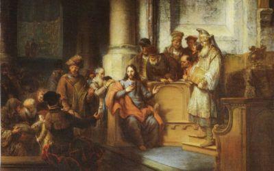 Jesús en Nazaret. Domingo 14 (B)