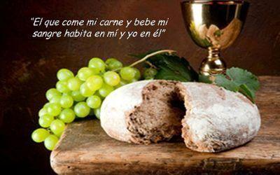 Domingo XX (B): El que come mi carne y bebe mi sangre habita en mí y yo en él.