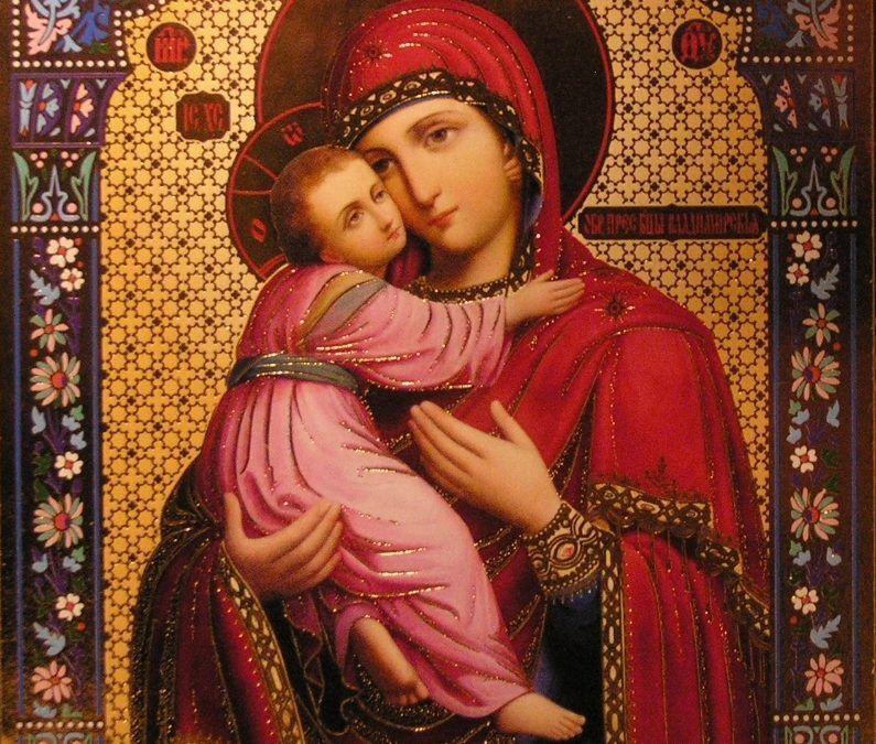 1 enero. La Madre de Dios