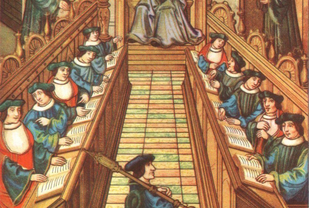 Figuras Franciscanas: Escuela Franciscana de París