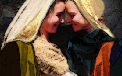 Visita de María a Isabel. IV domingo Adviento