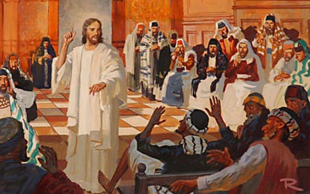 Domingo IV: Jesús continúa en la sinagoga de Nazaret