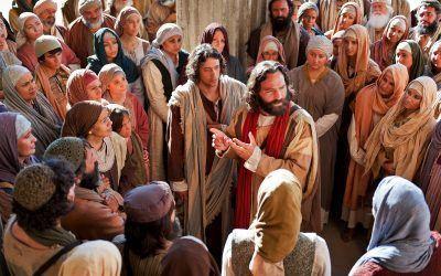 Domingo XX T.O. La paz de Jesús