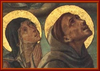 Figuras Franciscanas. Santa Clara de Asís
