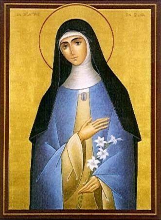 Figuras Franciscanas: Santa Beatríz de Silva