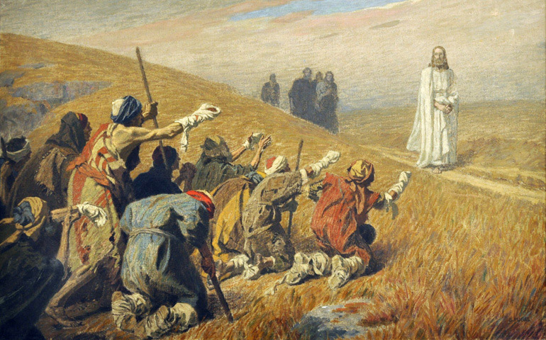 Domingo XXVIII: ¿Dónde están los nueve curados?