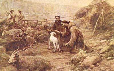 Figuras Franciscanas. San Francisco y la humildad