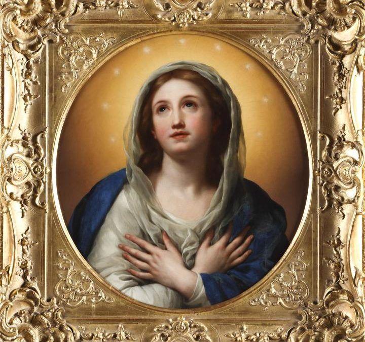 Oración Colecta. La Inmaculada