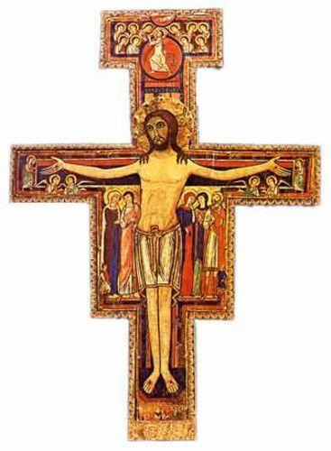 Símbolos Franciscanos: Crucifijo de San Damián