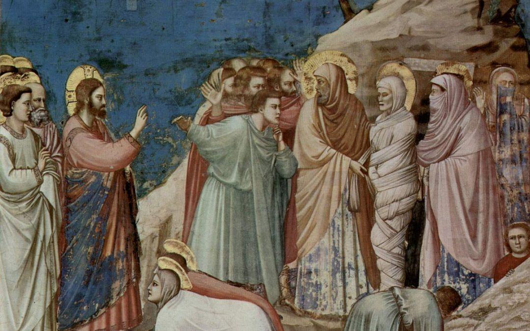 V Cuaresma: Lázaro vuelve a la vida