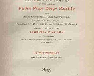 Figuras Franciscanas. Diego Murillo OFM