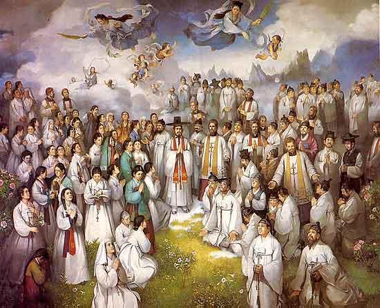 Todos los santos y Fieles difuntos