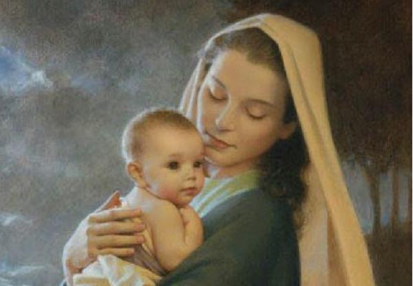 1 y 3 de enero. Maternidad y Encarnación