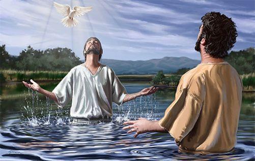 El Bautismo del Señor. Meditación