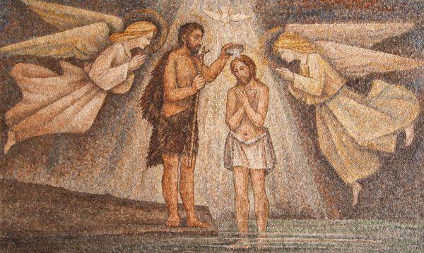 Bautismo del Señor según san Marcos