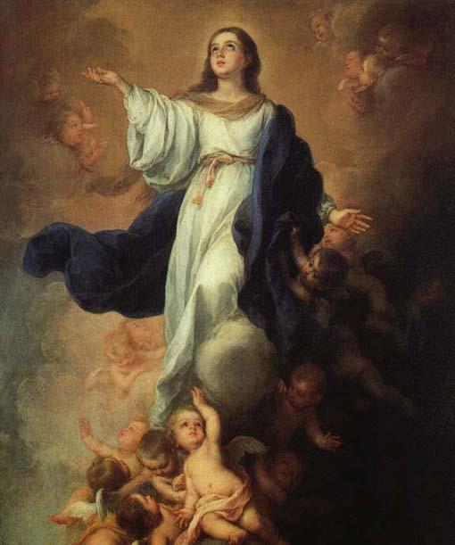 La Asunción. Oraciones de la Eucaristía