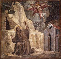 Impresión de las llagas de San Francisco (1224)